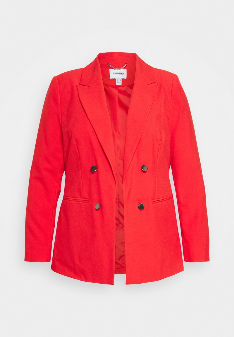 CAPSULE by Simply Be - FASHION - Blazer - red orange