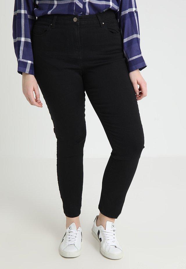 LEXI HIGH WAIST SUPER SOFT LEG - Jeans Slim Fit - black