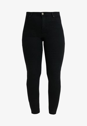 LUCY HIGH WAIST SUPER SOFT - Jeans Skinny Fit - black
