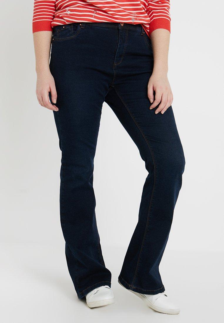 CAPSULE by Simply Be - SHAPE SCULPT - Jeans Bootcut - indigo
