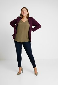 CAPSULE by Simply Be - SHAPE & SCULPT - Jeans Skinny Fit - indigo - 1