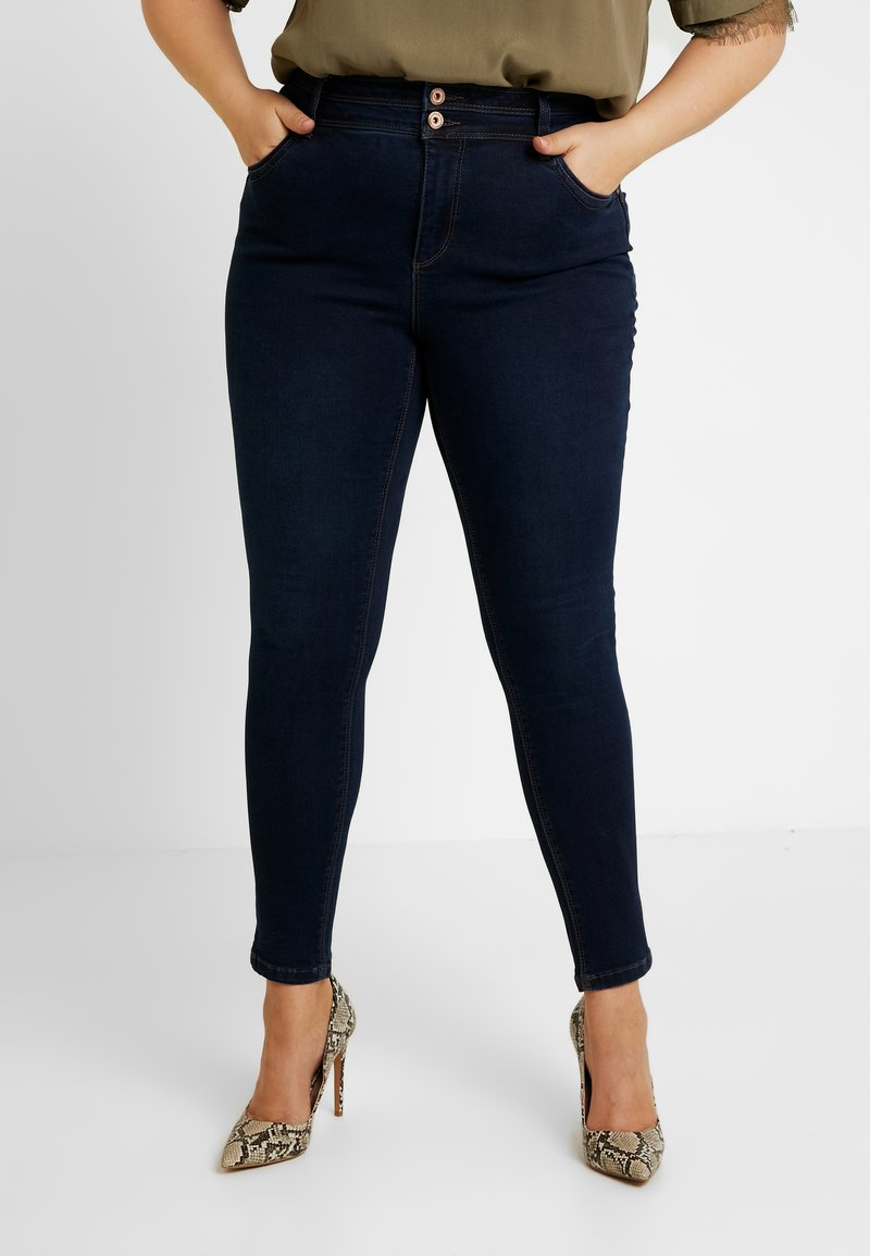 CAPSULE by Simply Be - SHAPE & SCULPT - Jeans Skinny Fit - indigo