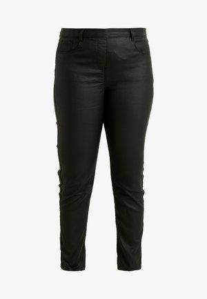 BELLA COATED - Jeans Slim Fit - black