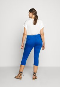 CAPSULE by Simply Be - AMBER CROP - Jegging - cobalt blue - 2