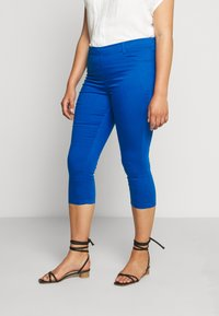 CAPSULE by Simply Be - AMBER CROP - Jegging - cobalt blue - 0