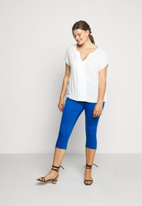 CAPSULE by Simply Be - AMBER CROP - Jegging - cobalt blue - 1