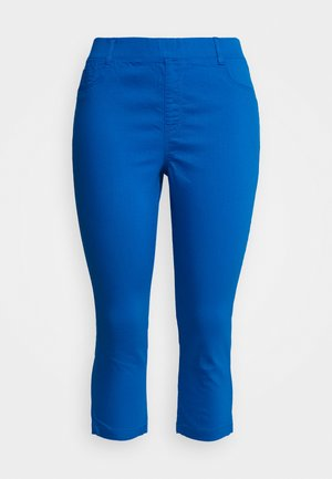 AMBER CROP - Jeggings - cobalt blue