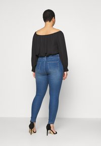 CAPSULE by Simply Be - AMBER SKINNY JEGGING - Jeggings - mid blue - 2