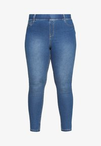 CAPSULE by Simply Be - AMBER SKINNY JEGGING - Jeggings - mid blue - 3