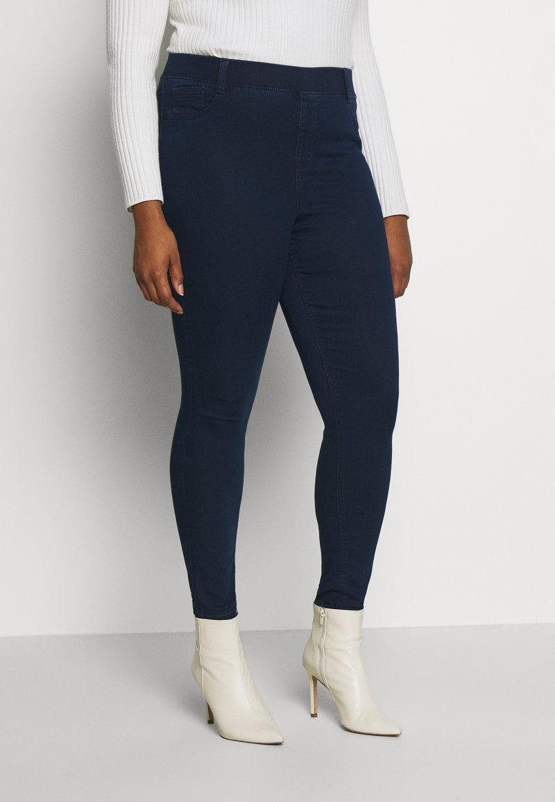 CAPSULE by Simply Be - NEW AMBER - Jeggings - dark indigo