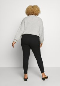CAPSULE by Simply Be - NEW AMBER - Jegging - black - 2