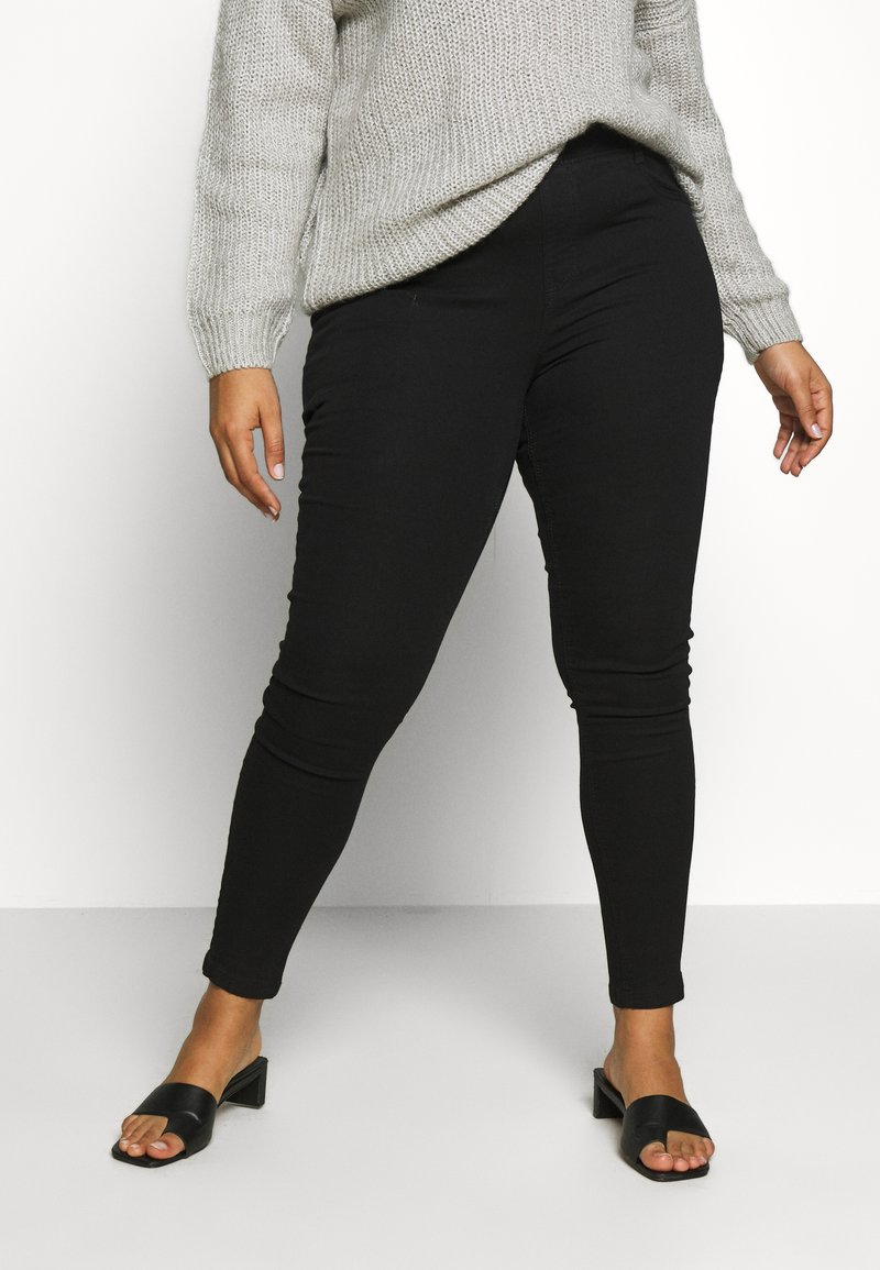 CAPSULE by Simply Be - NEW AMBER - Jegging - black