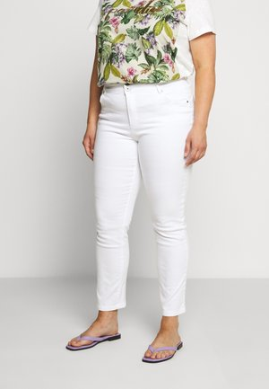 SHAPE SCULPT HIGH WAIST - Jeans Skinny Fit - white
