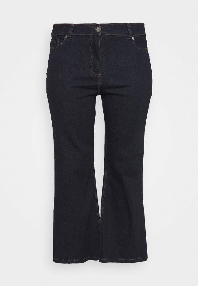 WIDE LEG - Jeans Skinny Fit - indigo