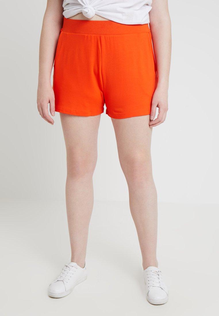 CAPSULE by Simply Be - Shorts - deep orange