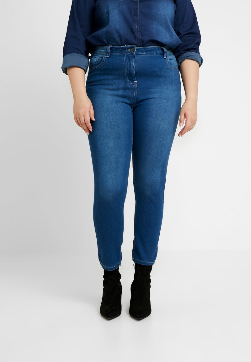 CAPSULE by Simply Be - LEXI - Jeans Skinny Fit - blue