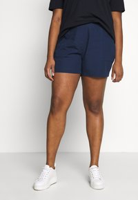 CAPSULE by Simply Be - 2 PACK - Short - navy/white - 2
