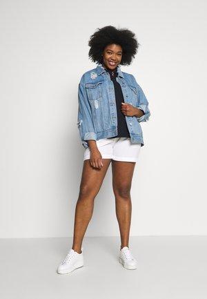 2 PACK - Shorts - navy/white