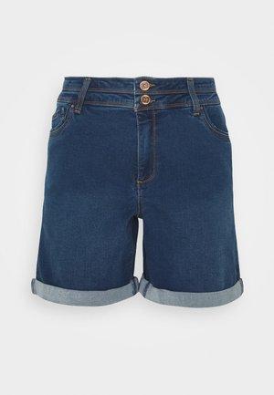 SHAPE AND SCULPT - Jeansshorts - mid blue