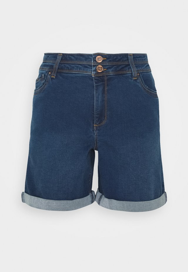 SHAPE AND SCULPT - Jeans Short / cowboy shorts - mid blue