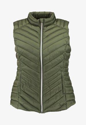 LIGHTWEIGHT PADDED GILET - Waistcoat - khaki