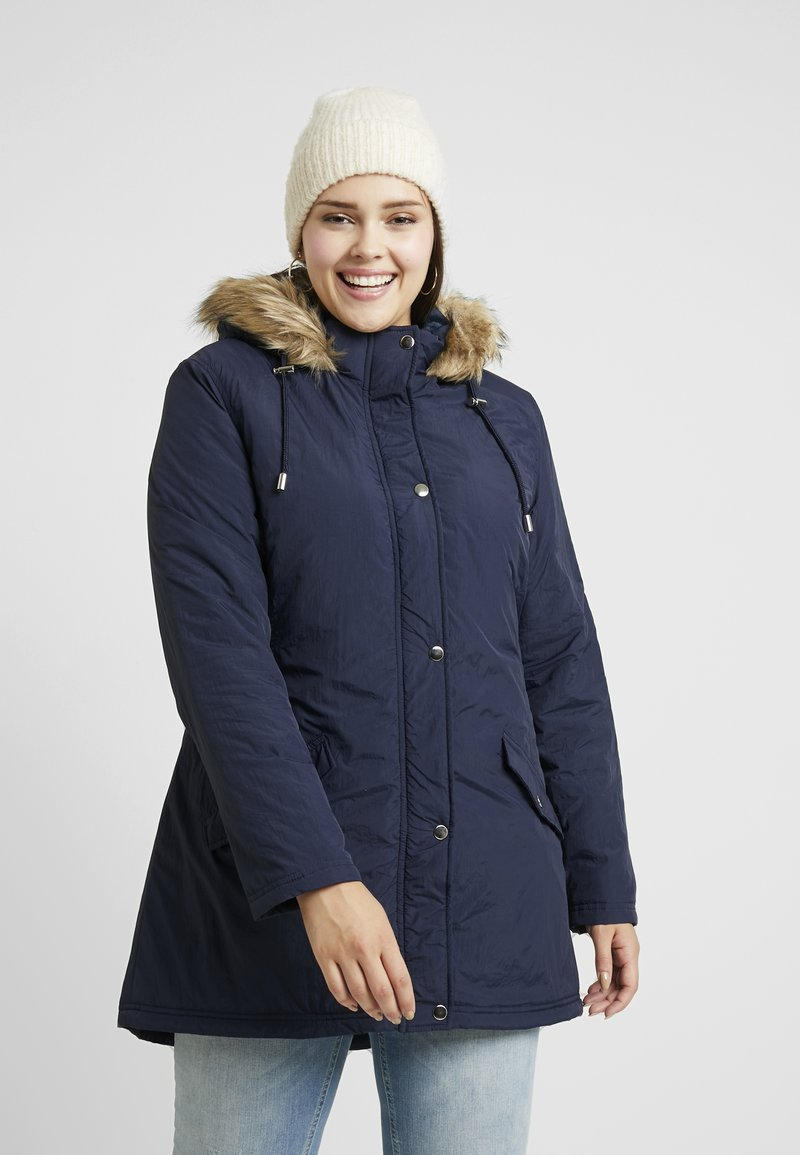 CAPSULE by Simply Be - Parka - navy