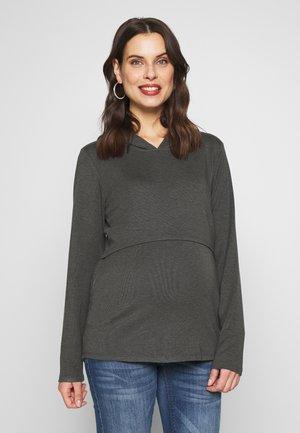 NURSING WINTER HOODIE - Sweatshirt - grey