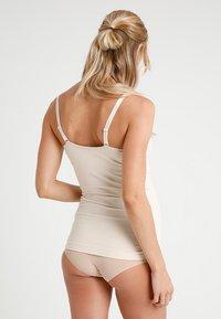 Cake Maternity - TOFFEE TANK - Caraco - nude - 2