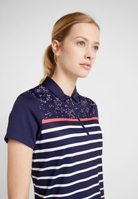 Callaway - CONFETTI PRINT WITH STRIPES - T-shirt sportiva - peacoat - 3