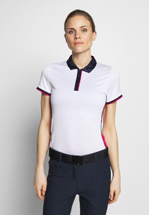 SWING TECH COLOUR BLOCK - Funkční triko - brilliant white