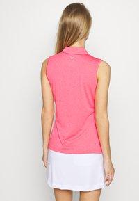 Callaway - SLEEVELESS - Sports shirt - camella rose heather - 2