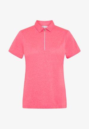 SHORT SLEEVE 1/4 ZIP - Sports shirt - camella rose heather