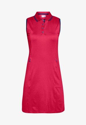 SOLID GOLF DRESS - Sportovní šaty - virtual pink