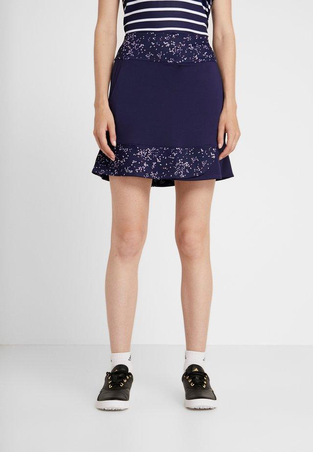 CONFETTI PRINT SKORT - Sports skirt - peacoat