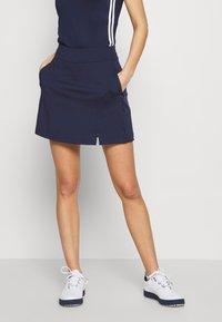 Callaway - TUMMY CONTROL SKORT - Sportovní sukně - peacoat - 0