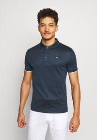 Callaway - SOLID TIPPING - T-shirt de sport - dress blue - 0