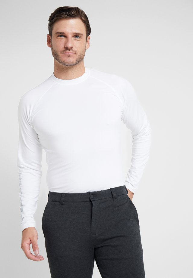 THERMAL BASE LAYER - Top sdlouhým rukávem - bright white