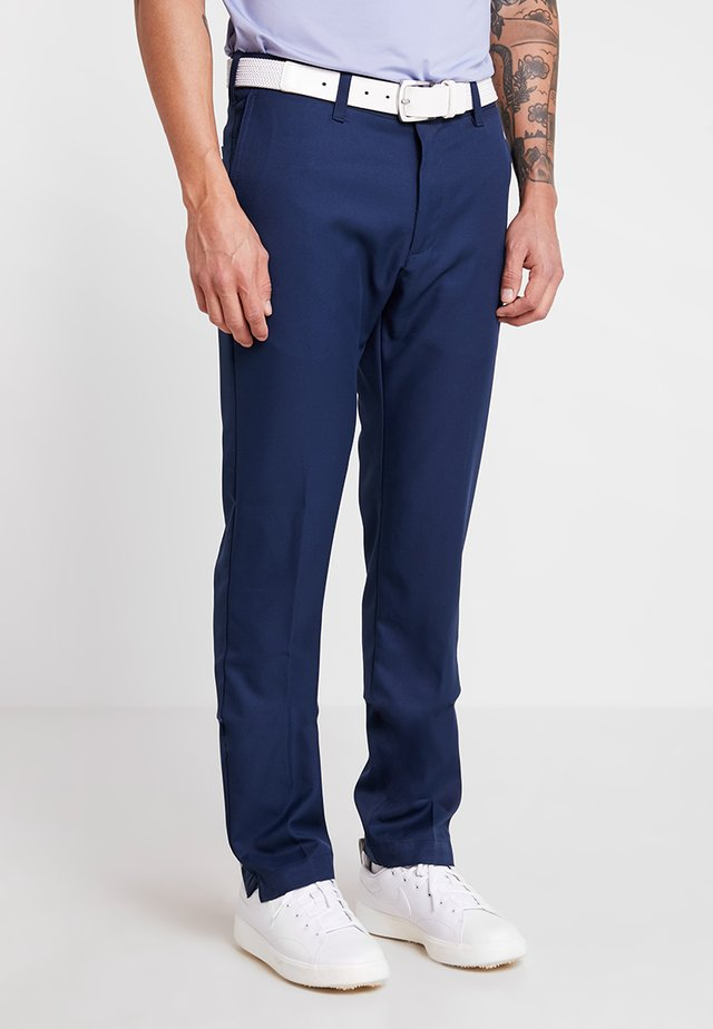 TECH TROUSER - Ulkohousut - dress blue