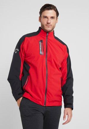 STORMGUARD WATERPROOF JACKET - Waterproof jacket - tango red