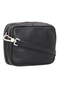 Cowboysbag - Schoudertas - black/dark yellow - 2