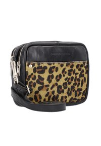 Cowboysbag - Schoudertas - black/dark yellow - 3