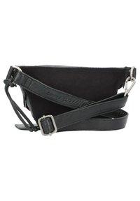 Cowboysbag - DUMAS GÜRTELTASCHE LEDER 25 CM - Bum bag - black - 2