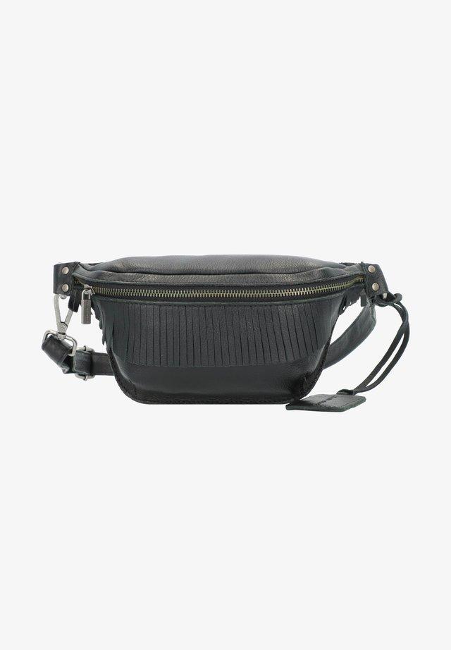 DUMAS GÜRTELTASCHE LEDER 25 CM - Bum bag - black