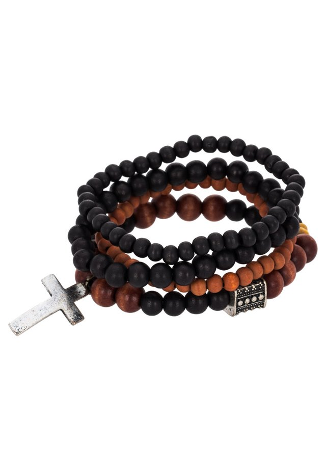 TRY 4 PACK - Bracelet - black/brown