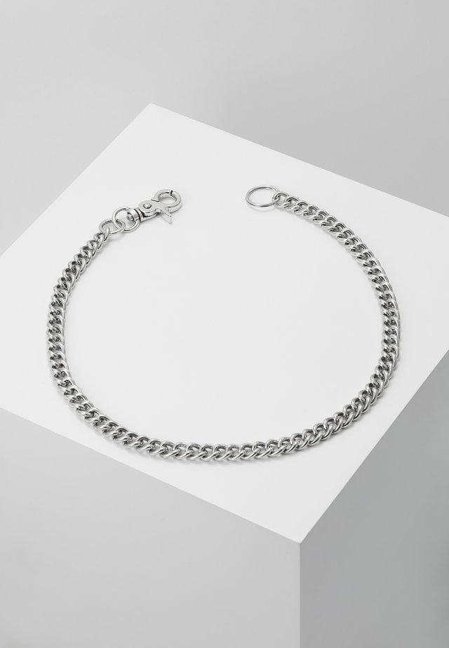BANDIT JEAN CHAIN - Nøgleringe - silver-coloured
