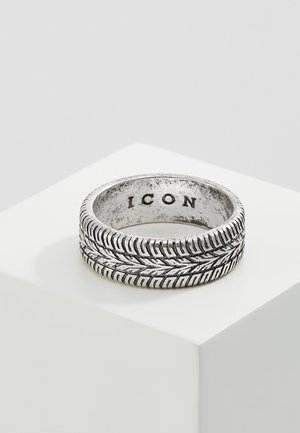 SICK & TYRED - Anillo - silver-coloured