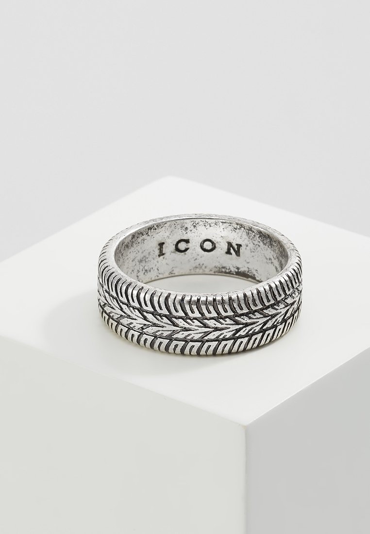 Icon Brand - SICK & TYRED - Ring - silver-coloured
