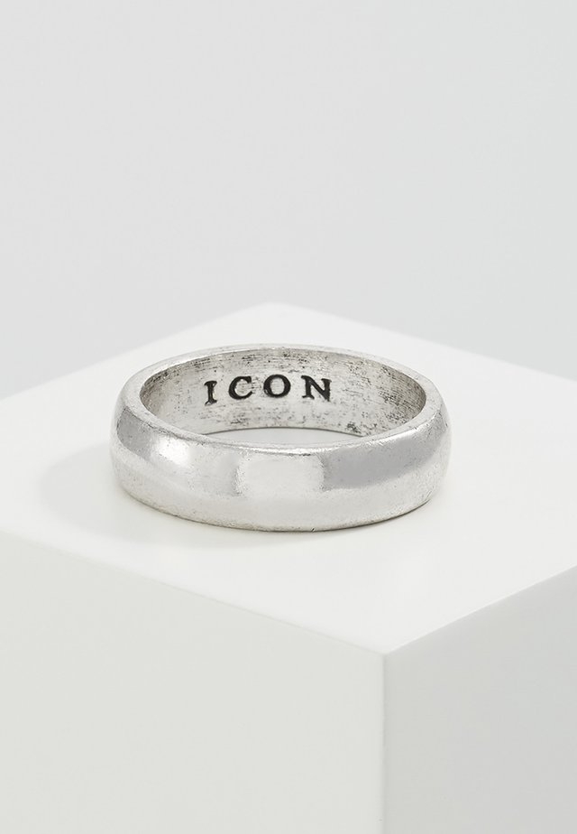 ICON BAND - Ringar - silver-coloured