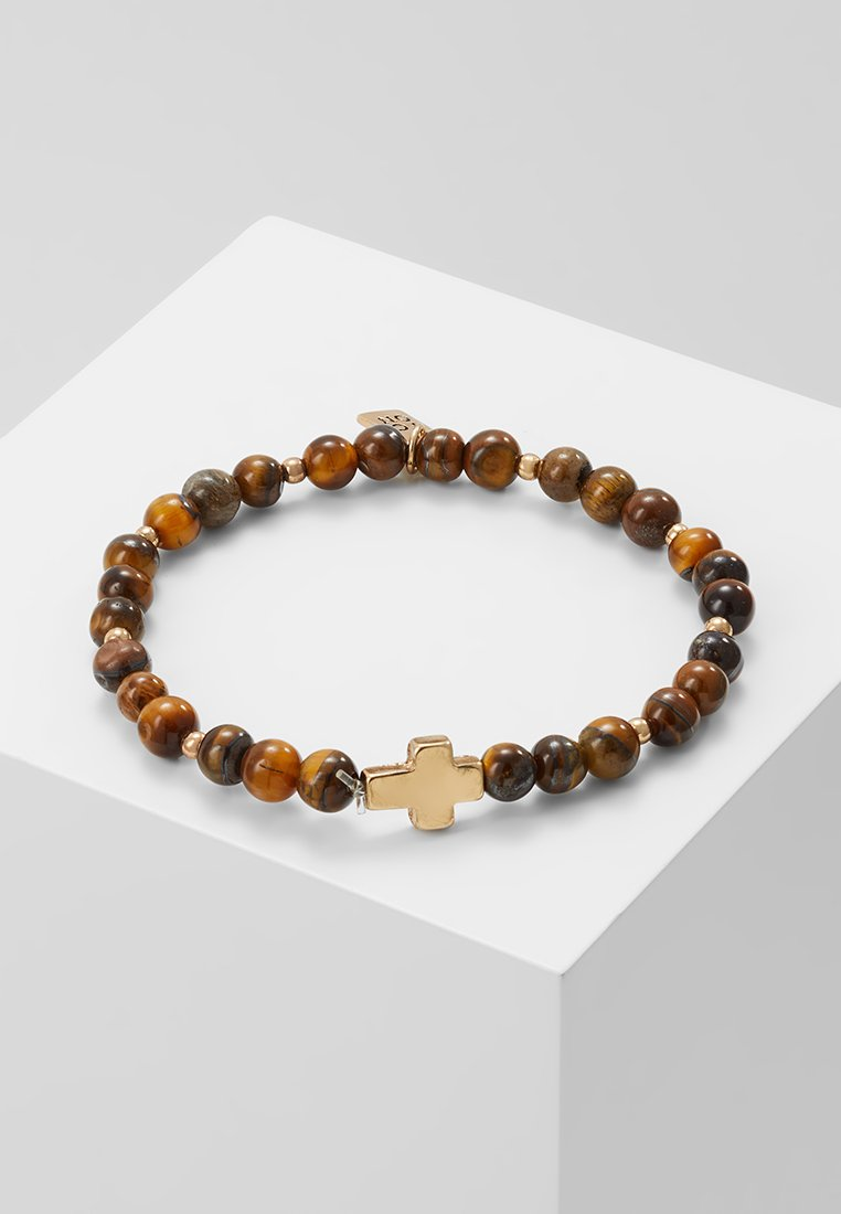 Icon Brand - CROSS BREED BRACELET - Bracciale - brown