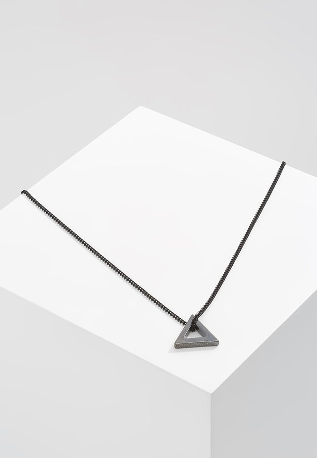 POINT NECKLACE - Halskette - black
